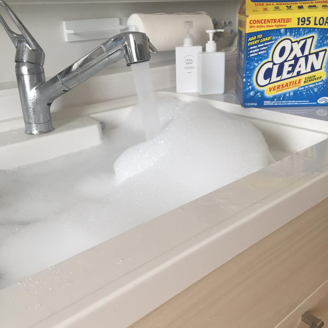 まるで魔法の粉!?家中の汚れがピカピカになる「#オキシ漬け」とは